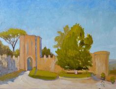 Buy The Fortezza Albornoz in Orvieto Italy Italian Plein Air Landscape Oil Painting, Oil painting by Caridad I. Barragan on Artfinder. Discover…