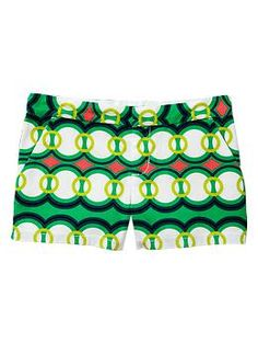 Retro & Geo print shorts by Gap. Cute for one on the girls. Kids Outfits, Summer Outfits, Summer Clothes, Short Shorts, Plain Tees, Kid Styles, Printed Shorts, Get Dressed, Spring Summer