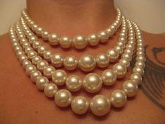 vintage pearl necklace...TDF~
