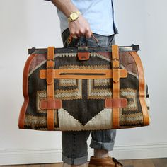 Adventure Travel Bag, 495€, now featured on Fab.