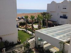 Guesthouse Hergla Plage Harqalah Offering a sauna and a private beach area, Guesthouse Hergla Plage is situated in Harqalah in the Sousse Region. The guest house has a children's playground and views of the sea, and guests can enjoy a meal at the restaurant.
