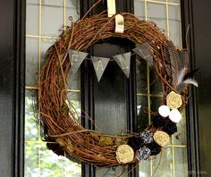 In love with this Fall wreath!