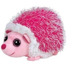 Ty Beanie Boos Regular - Mrs Prickly Pink Hedgehog Beanie Babies Soft Toy NWMT
