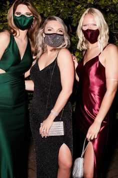 Don't let your low-key plans stop you from looking fabulous this holiday season! Find chic & stylish dresses under $120! Complete your look with a matching satin or sparkling mask to keep you and your loved ones safe! #holidaydress #holidaypartydress #2020holidaydress | Style D24NY005, WBM2434V2, WBM2402V1, MK1019 in Juniper & Wine, 487906FM002 | Shop these styles and more at davidsbridal.com Rose Gold Accessories, Perfect Dark, New Years Eve Dresses, Holiday Party Dresses, Holiday Looks, Stretch Satin, Davids Bridal, Low Key, Stylish Dresses