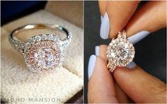 30 Unique Custom Style Diamond Engagement Rings   Deer Pearl Flowers - Part 2