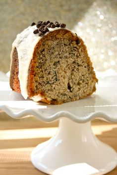 Bakergirl: Buttermilk Banana Bundt Cake with Brown Butter Icing.