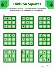 Fourth Grade Math Worksheets: Division Puzzles Maths Puzzles, Math Worksheets, Math Resources, Math Tutor, Teaching Math, Math Education, Kindergarten Math, Fun Math, Math Games