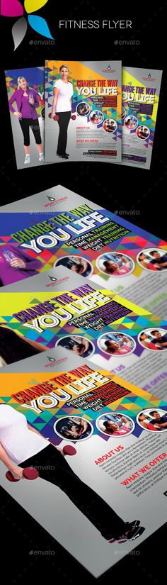 Fitness Flyer Flyer Template Fitness And Templates