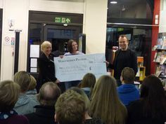 50% of ticket proceeds from our evening with Matt Haig on March 19th were donated to Lancashire Mind.
