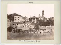 Italie, Roma, Cloaca Maxima  1880