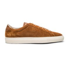 COMMON PROJECTS SUEDE ACHILLES SNEAKERS | OKI-NI PROMO CODE