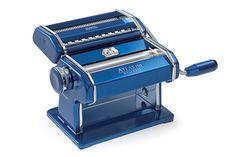 Italian Made Atlas 150 Wellness Pasta Maker by Marcato (Blue) - Sparrow Hawk Cookware