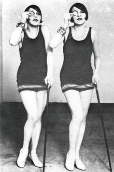 The Dolly Sisters  C. 1920s