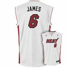 adidas Miami Heat LeBron James Jersey