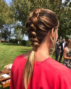 Vous aimez ce que vous voyez? Suivez-moi pour plus: uhairofficial Top Hairstyles, Pretty Hairstyles, Casual Braided Hairstyles, Modelos Fashion, Stylish Hair, Hair Looks, Hair Trends, Her Hair, Hair Inspiration