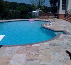 travertine pool 1