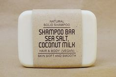 Take your vegan diet into the shower, too, with this shampoo bar.