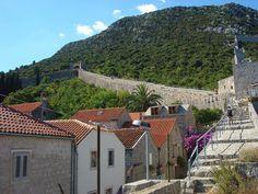 Walls of Ston, Ston, Croatia