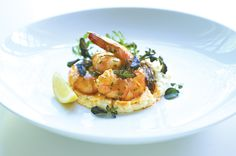 The Feed / RECIPE: Creamy Grits with Chile Lime Shrimp & Chive Cream