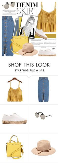 """Untitled #2057"" by defivirda ❤ liked on Polyvore featuring Madewell, Alexander Wang and Valextra"