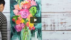 "This is ""finger paint"" by Alisa Burke on Vimeo, the home for high quality videos and the people who love them. Finger Paint Art, Finger Painting, Kunstjournal Inspiration, Art Journal Inspiration, Alisa Burke, Art Journal Techniques, Painting Techniques, Wow Art, Small Paintings"