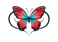 Close Up, Butterfly Ornaments, Butterfly Pictures, Stock Foto, Tribal Tattoos, Illustration, Cartoon, Flowers, Bujo