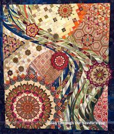 Blue Moon by Lauren Strach. 2015 Houston International Quilt ... : international quilt festival houston 2015 - Adamdwight.com