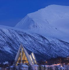 Tromsø cathedral, Norway