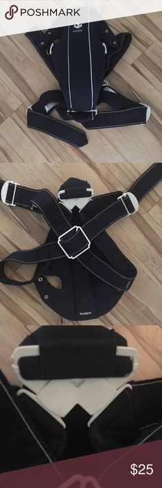 Baby Bjorn carrier Original baby Bjorn carrier all hooks, snaps and buckles in perfect condition. Smoke free home. 🚫trades🚫lowballs Baby Bjorn Bags Baby Bags