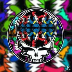Grateful Dead Skull, Grateful Dead Poster, Dark Star, Forever Grateful, Good Ol, Best Part Of Me, Psychedelic, Gal Gardot, Dallas Cowboys