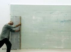 gerhard richter in studio