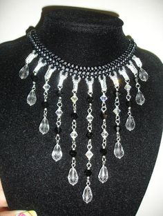 Handmade Jewelry: Falling Tears Necklace Part 1 of 2