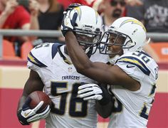 San Diego Charger LB Donald Butler named AFC Defensive Player of the Week for his performance against the Kansas City Chiefs