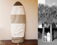 Surfboard Bag Surf Board Bag Cover  Khaki canvas