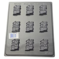 Make your own crazy houses from this chocolate mould, great for halloween, housewarming, kids parties or just for fun Make Your Own, Make It Yourself, How To Make, Crazy Houses, Chocolate Molds, House Warming, Parties, Halloween, Fun
