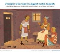 Jigsaw Puzzle - God Was with Joseph in Prison in Egypt