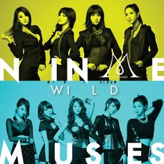 "Nine Muses are ""WILD"" for their 'Music Core' comeback stage"