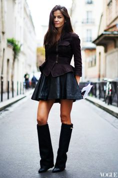 Givenchy Boots *GIVENCHY Black Leather Shark Lock Wedge Boots  http://trendylog.com/product/givenchy-black-leather/527127ce7b1f46d220009265