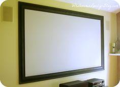 Framed Projector Screen
