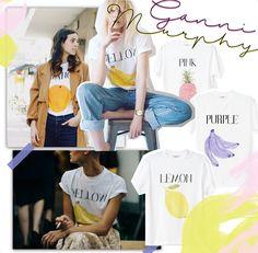 ganni murphy fruit shirt shop online thisisjanewayne