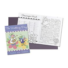 pictures to color, activities to play and word games to figure out. This soft covered book includes 24 fun-filled pages kids will adore and keep them busy.
