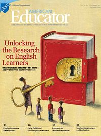 """Wow, Must-Read New Issue Of """"American Educator"""" On Teaching English Language Learners!"""