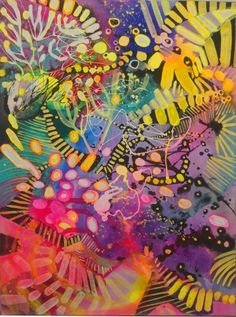 obraz olejny Majchrzak 60x80 abstrakcja