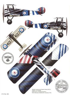 Sopwith Camel, for the courageous modeller! Aircraft Parts, Fighter Aircraft, Dibujos Pin Up, Aircraft Painting, World War One, Aviation Art, Paint Schemes, Military Aircraft, Military Jets