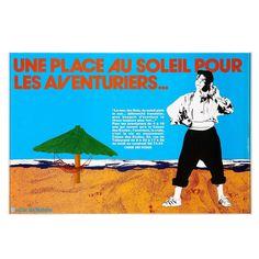 Une place au soleil pour les aventuriers Place, Galleries, Auction, Movie Posters, Adventurer, Sun, Film Poster, Billboard, Film Posters