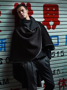Paolo Anchisi & Alfred Kovac Take to Tokyo for Emporio Armanis Fall/Winter 2012 Campaign by Alasdair McLellan