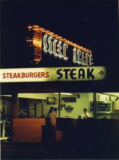 Springfield, Illinois. Steak N Shake 710 Southgrand Ave E. Courtesy of Springfield Rewind and the Sangamon Valley Collection.