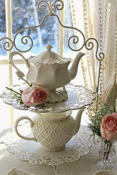 Adorable Tea Pots   Aiken House & Gardens: Sunday Respite