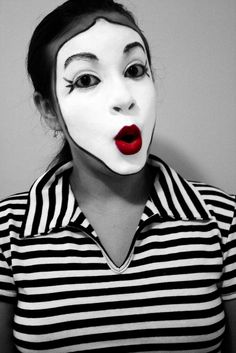 Mime photography