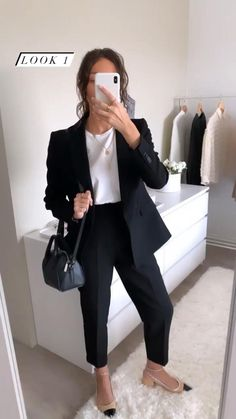 Business Casual Outfits For Work, Business Professional Outfits, Business Outfits Women, Classy Work Outfits, Office Outfits Women, Summer Work Outfits, Mode Outfits, Work Casual, Women Business Fashion